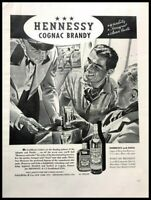 1939 Hennessy Cognac Brandy Vintage Advertisement Print Art Ad Poster LG81