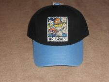 Nickelodeon Rugrats Curved Bill Adjustable Snapback Hat Cap OSFM Adult 7569af9d85ce