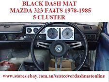 DASH MAT, DASHMAT MAZDA 323 FA4TS 1978-1985, BLACK, 5 CLUSTER