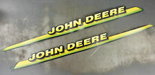 JOHN DEERE OEM Upper Hood Decal Set M126040 M126041 325 335 345 GT LX low s/n