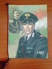 Calendario Arma dei Carabinieri 1987, Integro con cordino