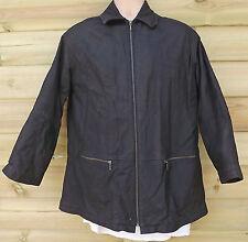 Vintage Timberland Brown Cowhide Leather Weathergear Jacket - S - c1995