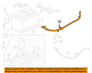 Cadillac GM OEM 2016 ATS Battery-Positive Cable 23343531