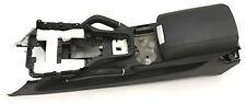Porsche Cayenne 958 Mittelkonsole Armlehne Leder 7P5864089A Schwarz Lehne