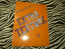 George Harrison Extra Texture Sheet Music Book - Used Good Condition