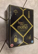 DVD Box Set HOW I MET YOUR MOTHER The Whole Story Seasons 1-9 Series BROKEN CASE