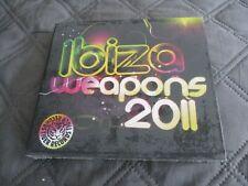 "COFFRET 2 CD DIGIPACK NEUF ""IBIZA WEAPONS 2011"" Tiger Records"