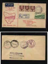 Australia  first day  cover  , on registered  postal  envelope      MS0228