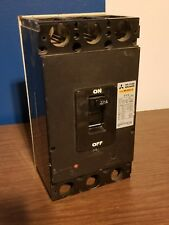 NF225-S MITSUBISHI No Fuse 225 Amp 3 Pole Circuit Breaker Good Working Unit