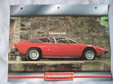 Lamborghini P250 Urraco Dream Cars Card