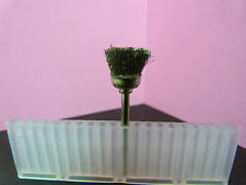 """20 pieces (1/8"""" inch) shank STEEL Wire brush Rotary CUP shape cups brushes tool"""