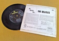 """ BEATLES HITS "" UK SUPER ORIG EP RARER BUPR SLEEVE"