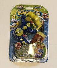 Amazing Bubbles Toy Bubble Gun with Bubbles 4 Streams of Continuous Bubbles