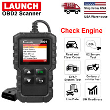 LAUNCH OBD OBD2 Scanner Code Reader Check Engine Fault Code Car Diagnostic Tool
