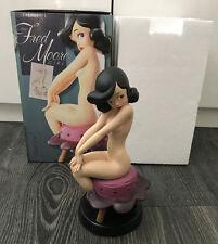 Electric Tiki Fred Moore Girl Statue Réglisse Noir Tête échantillon édition limitée