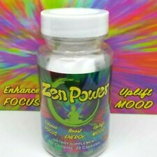 Zen Power 20ct Capsules Bottle- Nootropics Focus,Mood,Brain,Energy Pills