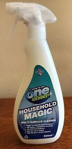 Household Magic Multi Surface Cleaner Spray Stain Odour Removal Easy Clean House