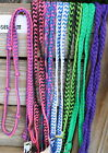 New Braided Barrel Racing Reins in bright colors  Quality Western Horse tack.