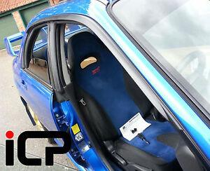 Genuine JDM Wind Deflector Rain Visor Set Fits: Subaru Impreza Saloon 00-07