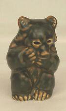 Vintage Khud Kyhn BROWN BEAR CUB SITTING Royal Copenhagen Figurine 21435 Denmark