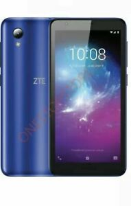 """ZTE BLADE A3 2019 16GB 5"""" GPS Unlocked Android Smartphone Blue"""