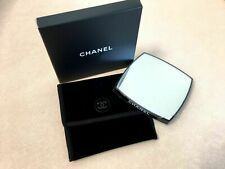 New CHANEL Makeup 2 sides Mirror with pouch bag VIP Gift Collectible