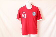 Men's Red Umbro Rooney Jersey - Size 38