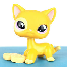 Authentic Littlest Petshop 855 Cat Short Hair Kitty Pet Shop Chat Europeen LPS