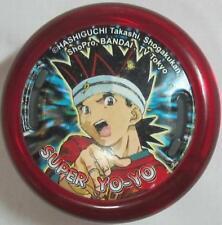 Bandai Hashiguchi Takashi Fire Star Transparent Red Super Yo-Yo