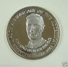 New listing Turks and Caicos Coin 5 Crown 1992 Unc, 40th Anniversary - Reign of Elizabeth Ii