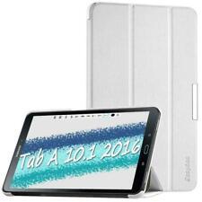 EasyAcc Etui Housse pour Samsung Galaxy Tab A 10.1, Ultra Slim Etui, Blanc