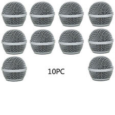 10pc New Replacement Ball Head Mesh Microphone Grille for Shure SM58 BETA58A