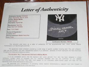 Mickey Mantle NO. 7 MINT AUTOGRAPHED New Era 8 String Yankees Hat- JSA & PSA/DNA