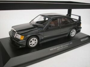 Mercedes Benz 190E 2.5-16 Evo 2 1990 Blue Black Metallic 1/18 minichamps