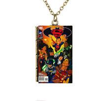 Creative Miniature Cartoon Amazing Spiderman Avengers Minuscule livre Collier Pendentif