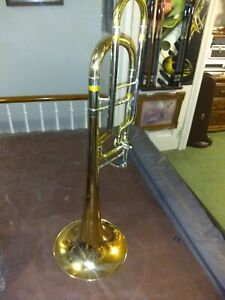 Bass trombone  Conn model 110h single trigger