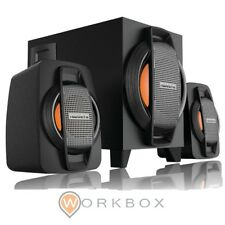 CASSE SPEAKERS SISTEMA AUDIO OVBOOST MERCURY 2.1 OB2141 2X 2.5W SUBWOOFER