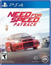 Need for Speed Payback PS4 (Sony PlayStation 4, 2017) Brand New - Region Free