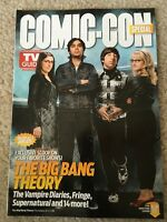 SDCC 2012 THE BIG BANG THEORY TV GUIDE COMIC CON EXCLUSIVE RARE DUAL COVER