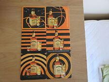 Jack daniels Honey Coaster Set Of Six