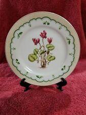 Georges Briard VICTORIAN GARDENS Cyclamen Salad Plate 4943695