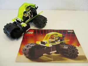 (E14 ) Lego Space Classic 6851 Blacktron Tri-Wheeled Tyrax MIT BA 100% KOMPLETT