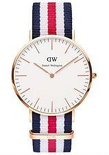 Daniel Wellington Watch * 0102DW Classic Canterbury 40MM NATO Strap #crzyj