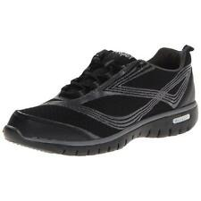 Propet 8193 Womens Travellite Black Walking Shoes Sneakers 8 Medium (B,M) BHFO