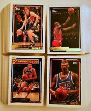 1992-93 Topps Basketball GOLD Parallel - 325+ Card Lot