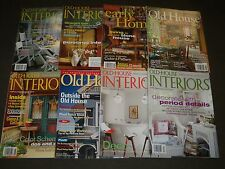 2000'S OLD HOUSE INTERIORS MAGAZINE LOT OF 16 - NICE COVERS & PHOTOS - R 95