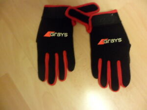 Grays G500 Gel Gloves XS Red/Black Perfect