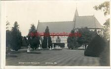 REAL PHOTOGRAPHIC POSTCARD DENSTONE CHURCH, (NEAR STOKE-ON-TRENT), STAFFORDSHIRE