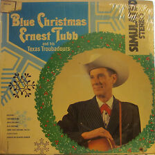 Ernest Tubb and The Texas Troubadours - Blue Christmas  (MCA 225) (sealed)