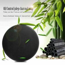 Handmade Bamboo Charcoal Face Soap Purify Blackhead Clean Carbon Oil Control Kit
